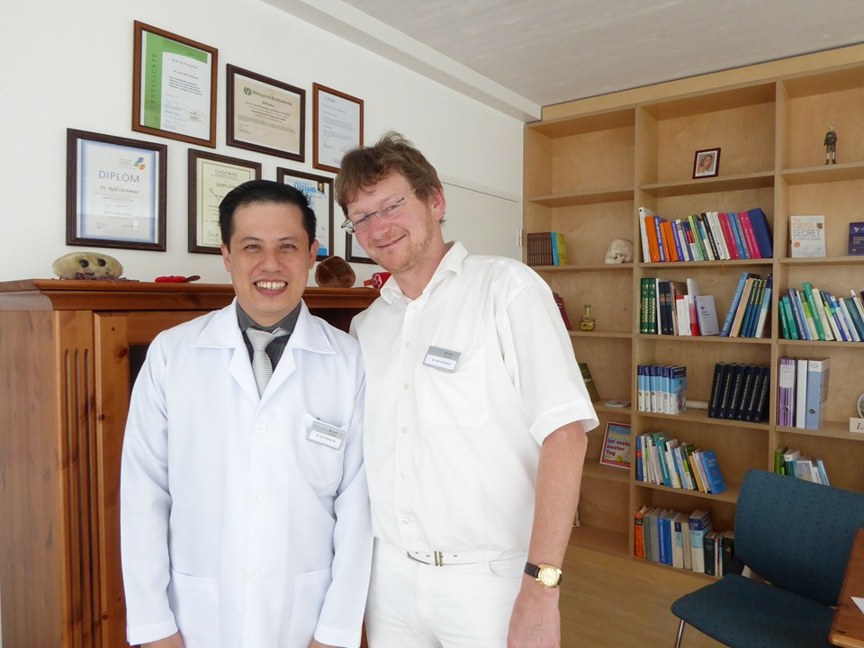 Dr.Lee with Dr.Omettmeier