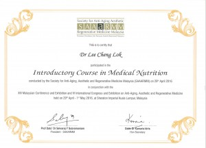 SAAaRM - Introdructory Course in Medical Nutrition