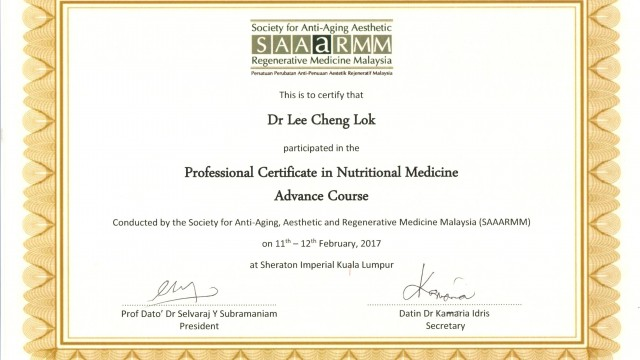 Nutritional Medicine Advance Course