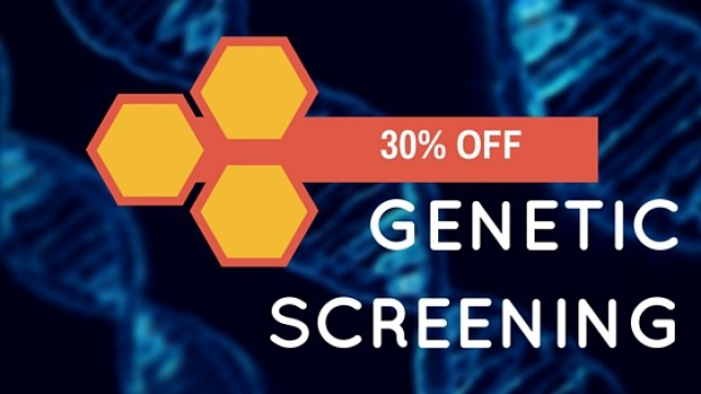 30% OFF – Genetic Screening